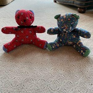 Vera Bradley stuffed animals